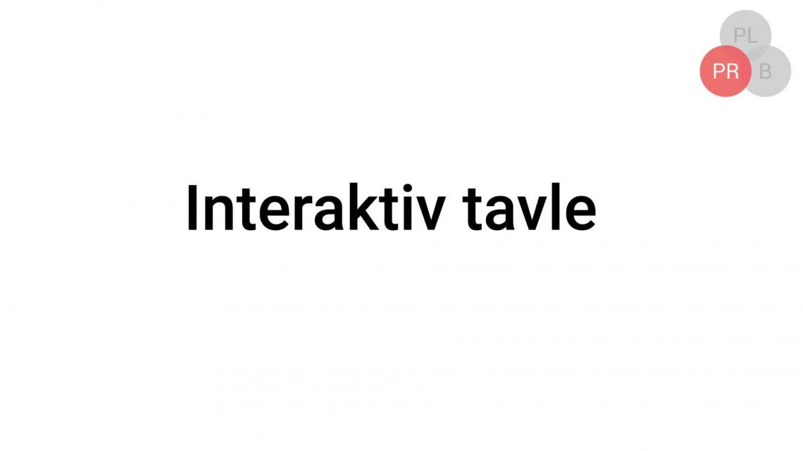 Interaktiv tavle video
